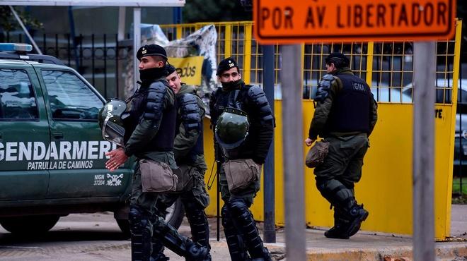 Argentina khuyen dan roi thu do, lo bieu tinh thuong dinh G20 hinh anh
