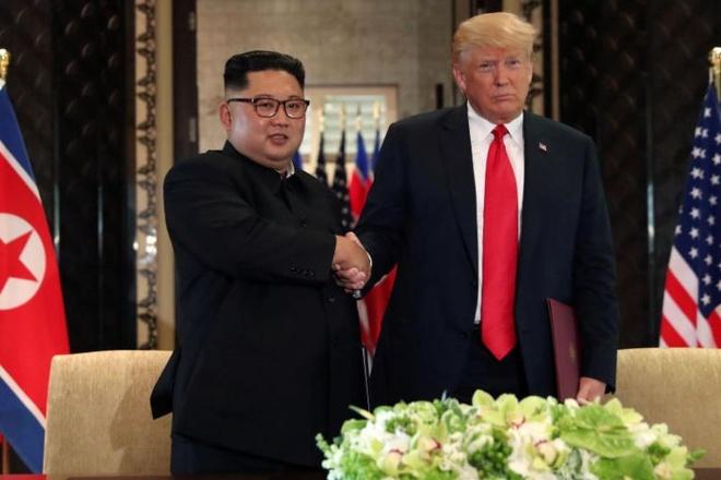 TT Trump hua dap ung nguyen vong cua ong Kim Jong Un hinh anh 1