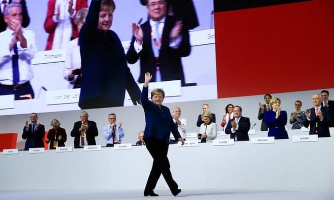 'Tieu Merkel' tro thanh lanh dao dang CDU tai Duc hinh anh 2