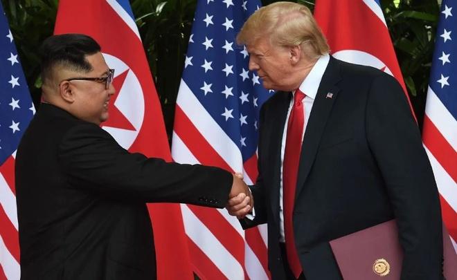 TT Trump xac nhan 'dang dam phan' dia diem hop thuong dinh My-Trieu hinh anh