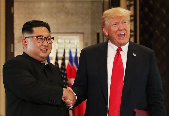 Bao Han: Kim Jong Un va TT Trump 'rat co the' gap lai o Ha Noi hinh anh