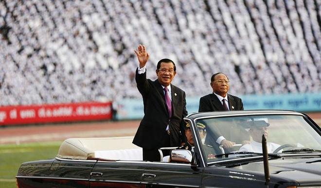 Thu tuong Hun Sen cam on Viet Nam anh 1