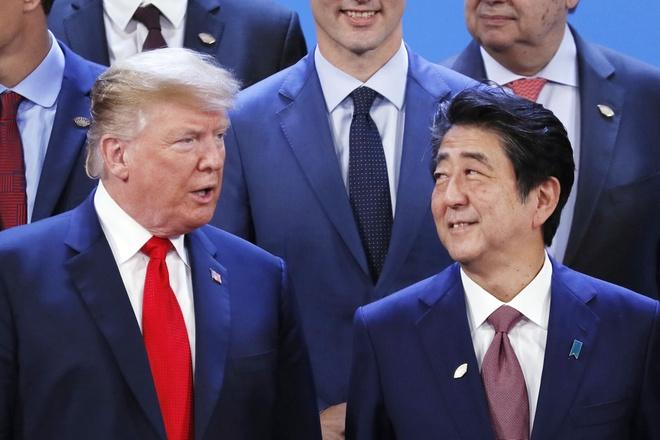 Nua sau nhiem ky TT Trump: Tokyo doi mat tuong lai ngay cang bat dinh hinh anh