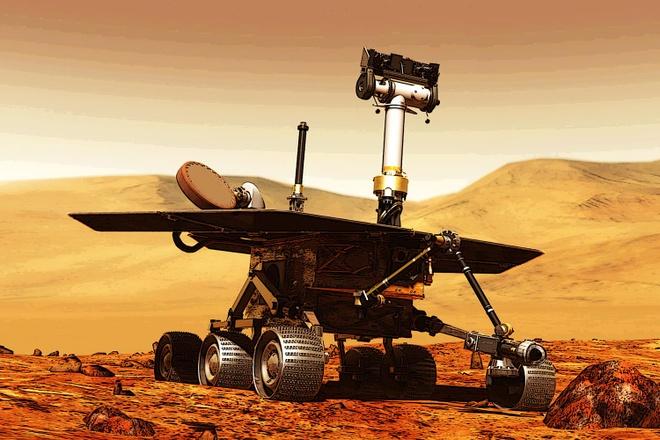 NASA vinh biet robot tham hiem 'da chet' sau bao bui Sao Hoa hinh anh