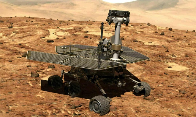 NASA vinh biet robot tham hiem 'da chet' sau bao bui Sao Hoa hinh anh 1