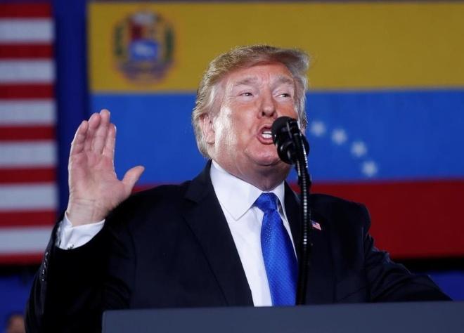 TT Trump keu goi quan doi Venezuela ung ho phe doi lap hinh anh
