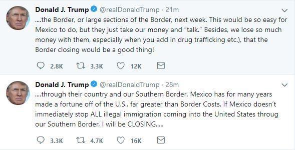 TT Trump doa dong cua bien gioi voi Mexico vao tuan toi hinh anh 1