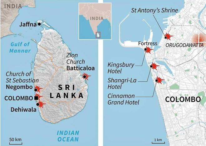 danh bom Sri Lanka anh 2