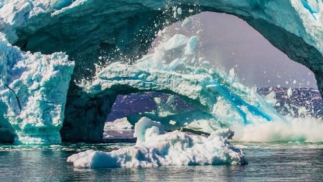 Bang Greenland tan nhanh gap 6 lan, lam tang muc nuoc bien toan cau hinh anh 1
