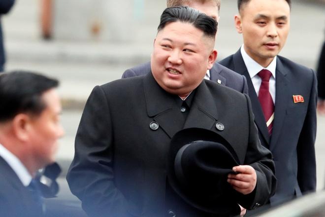 Tau boc thep dua ong Kim Jong Un roi ga Vladivostok som hon du kien hinh anh