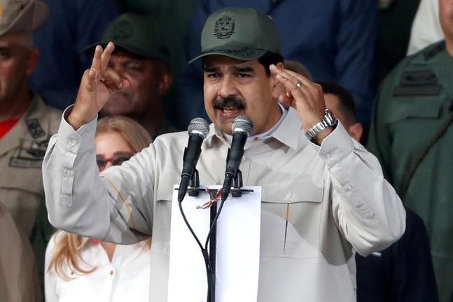 dao chinh Venezuela anh 1