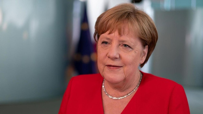 Thu tuong Merkel canh bao 'the luc hac am' troi day o chau Au hinh anh 1