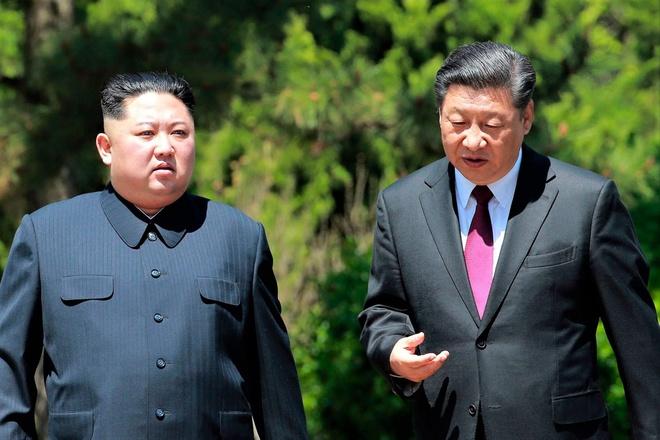 Ong Tap Can Binh sap tham Trieu Tien va gap ong Kim Jong Un hinh anh 1