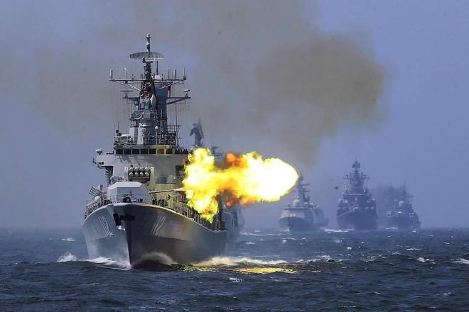 Trung Quốc tập trận bắn đạn thật giữa lúc tàu Mỹ ở Biển Đông - Thế giới - ZINGNEWS.VN