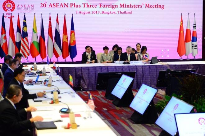 Pho thu tuong Pham Binh Minh tai ASEAN+3 anh 2