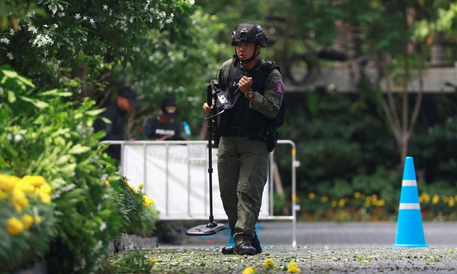 Hang loat vu no rung chuyen Bangkok giua luc dien ra hoi nghi ASEAN hinh anh 3