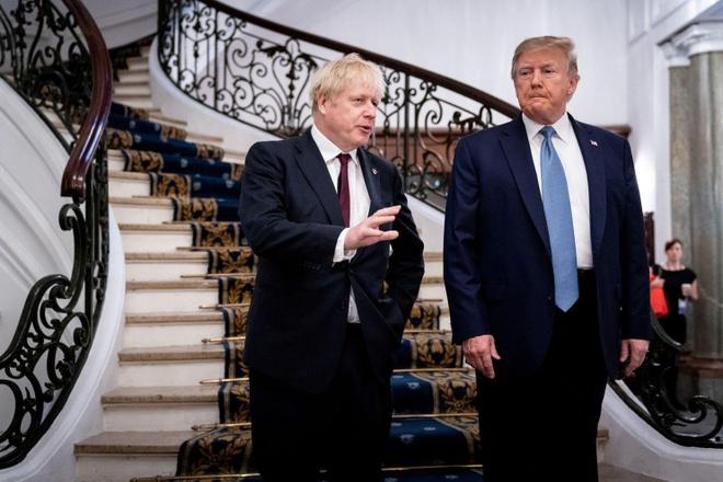 Trump hoi han leo thang chien tranh thuong mai anh 1