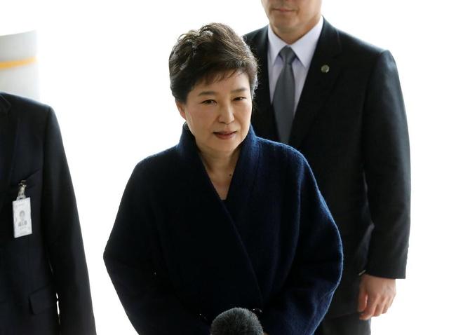 Toa Toi cao Han Quoc yeu cau xu lai cuu tong thong Park Geun Hye hinh anh 1