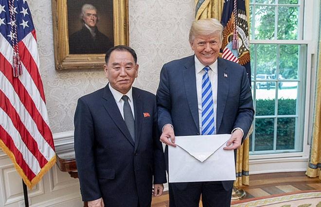 Ông Kim Jong Un bí mật gửi thư mời TT Trump đến Bình Nhưỡng