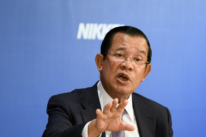 Ong Hun Sen canh bao dieu quan doi doi pho neu dang doi lap tai xuat hinh anh 1