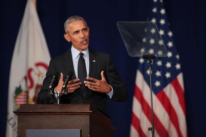 Ung vien Dan chu phan phao cuu tong thong Obama hinh anh 1