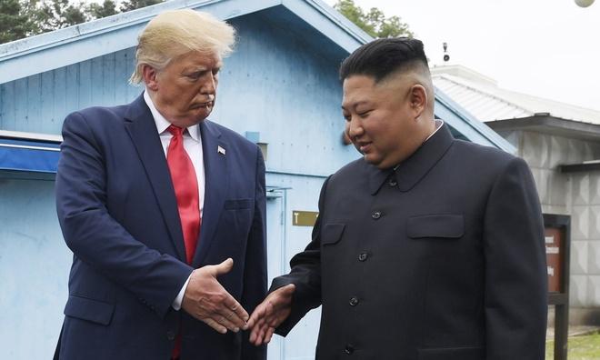 My canh bao Trieu Tien phai tra gia vi thu ten lua hinh anh 1 Trump_Kim_1.jpg