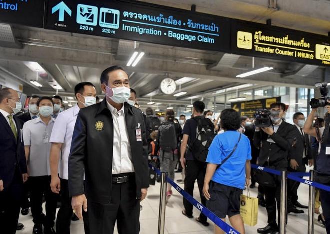 Thai Lan bac tin don Thu tuong Prayut nhiem virus corona hinh anh 1 Bangkok.jpg