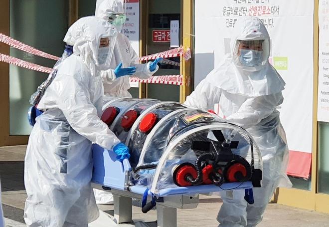 Ca nhiem virus corona dau tien tu vong o Han Quoc, 104 nguoi mac benh hinh anh 2 ha_canh_noi_anh.jpg
