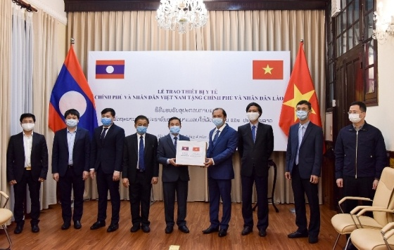 Viet Nam ho tro Lao,  Campuchia anh 2