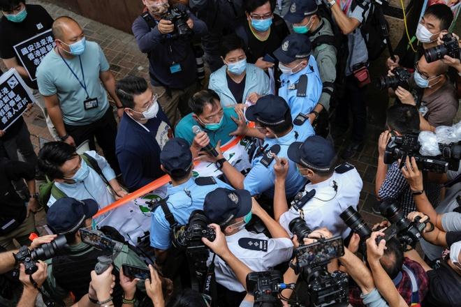 Trung Quoc ra luat an ninh cho Hong Kong anh 1