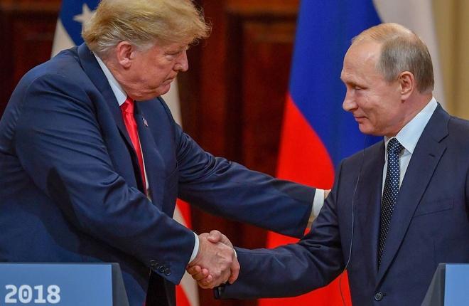 Tong thong Trump moi Tong thong Putin hop G7 anh 1