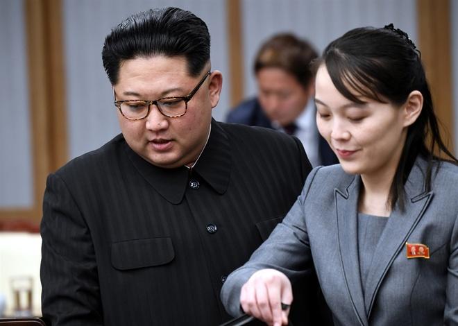 canh cao tu em gai ong Kim Jong Un anh 1