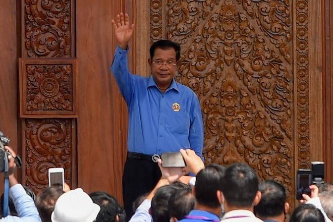 Thu tuong Hun Sen anh 1