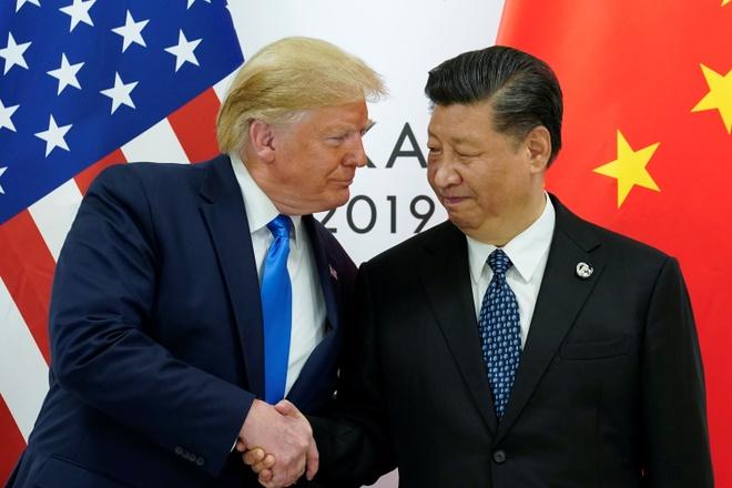 ong Tap nho ong Trump nuong tay anh 1