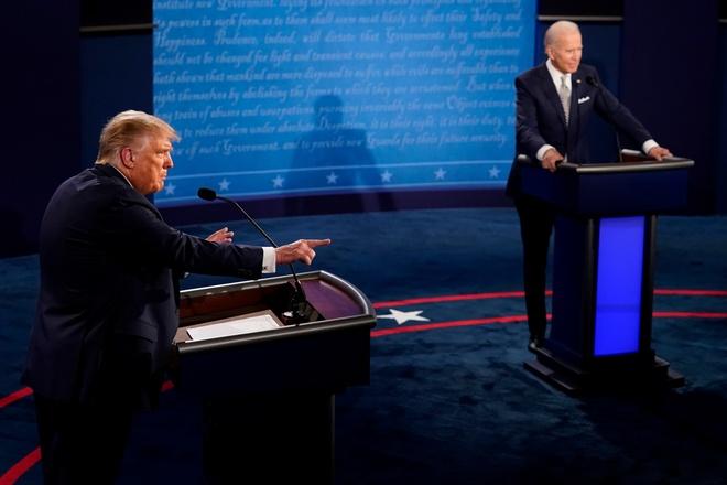 siet lai trat tu cho tranh luan Trump - Biden anh 1