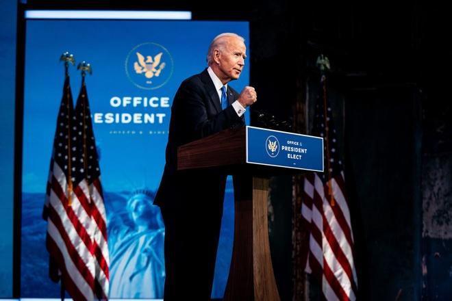 Tong thong Putin chuc mung ong Joe Biden anh 1