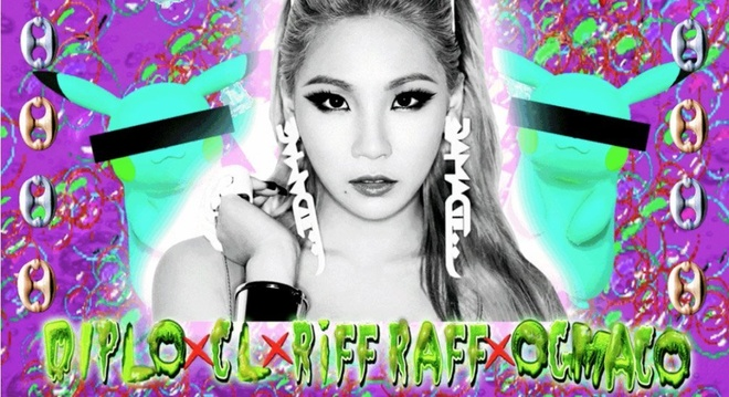 MV Doctor Pepper - CL ft Diplo hinh anh