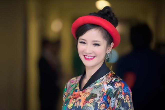 Nhac si Phu Quang khom nguoi treu dua Thuy Van hinh anh 9