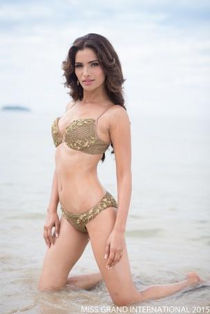 Nhung ung vien sang gia o Miss Grand International 2015 hinh anh 2