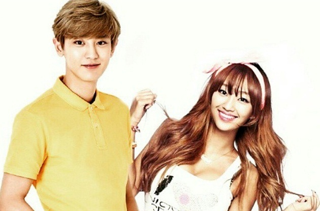 Hyorin khang dinh khong che Chanyeol (EXO) hat rap do te hinh anh