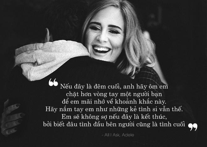10 cau hat lang man nhat tu album '25' cua Adele hinh anh 10