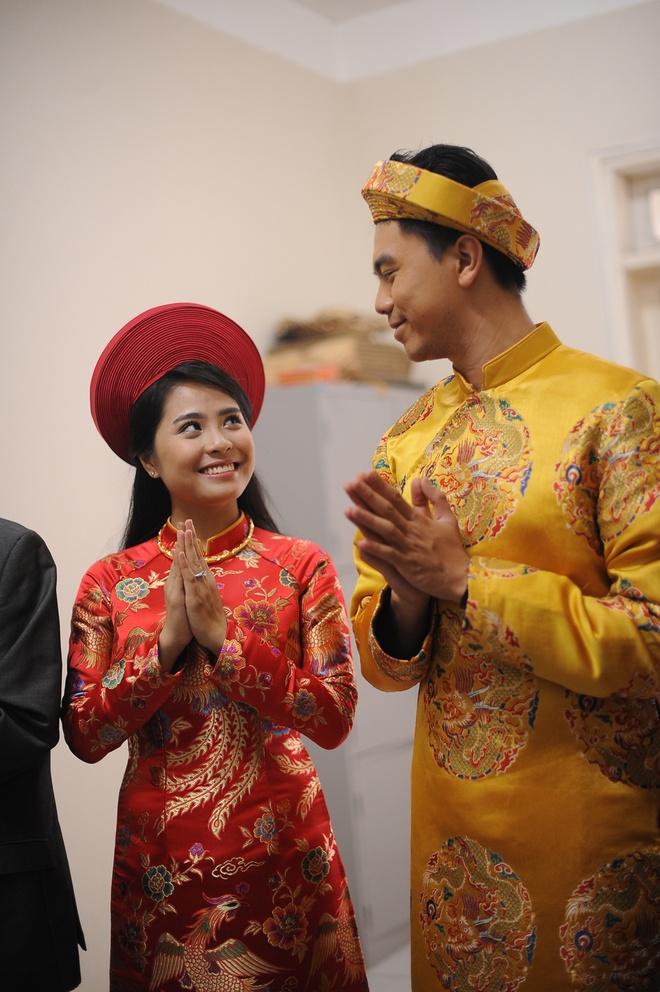 Chu re dua ca nuong Kieu Anh len chua lam le Hang thuan hinh anh 6