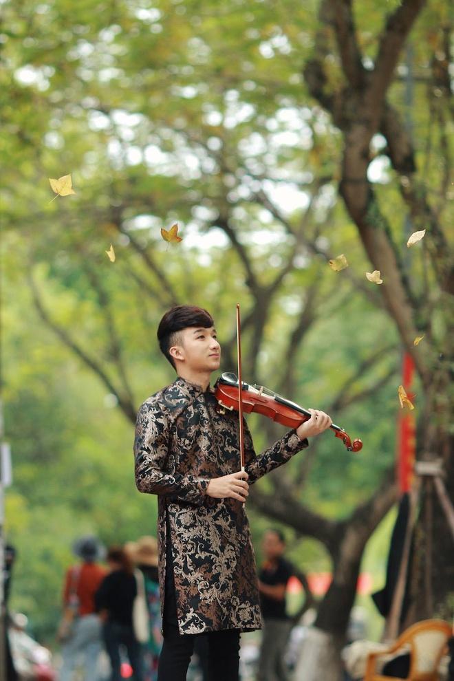 Nghệ sĩ violin trẻ Hoàng Trương