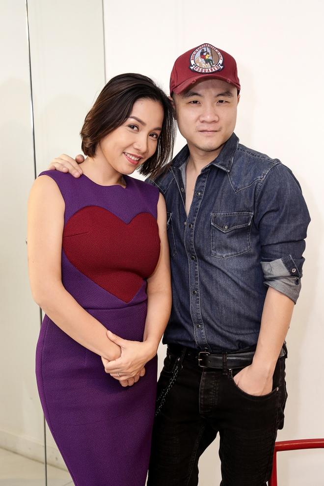 Do Manh Cuong chon vay trai tim cho My Linh hinh anh 1