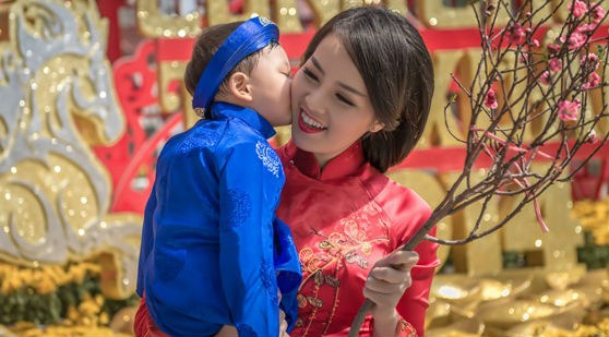 A hau Thuy Van: 'Minh con co nhieu tinh xau nua la chong' hinh anh
