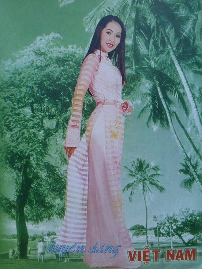 Mac ao dai nhu Diem Huong, Viet Trinh, Diem My hinh anh 6
