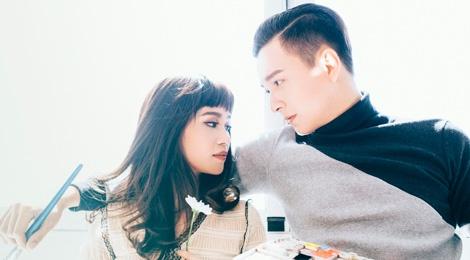 Ngo Kien Huy, Si Thanh ket doi trong mua Valentine hinh anh