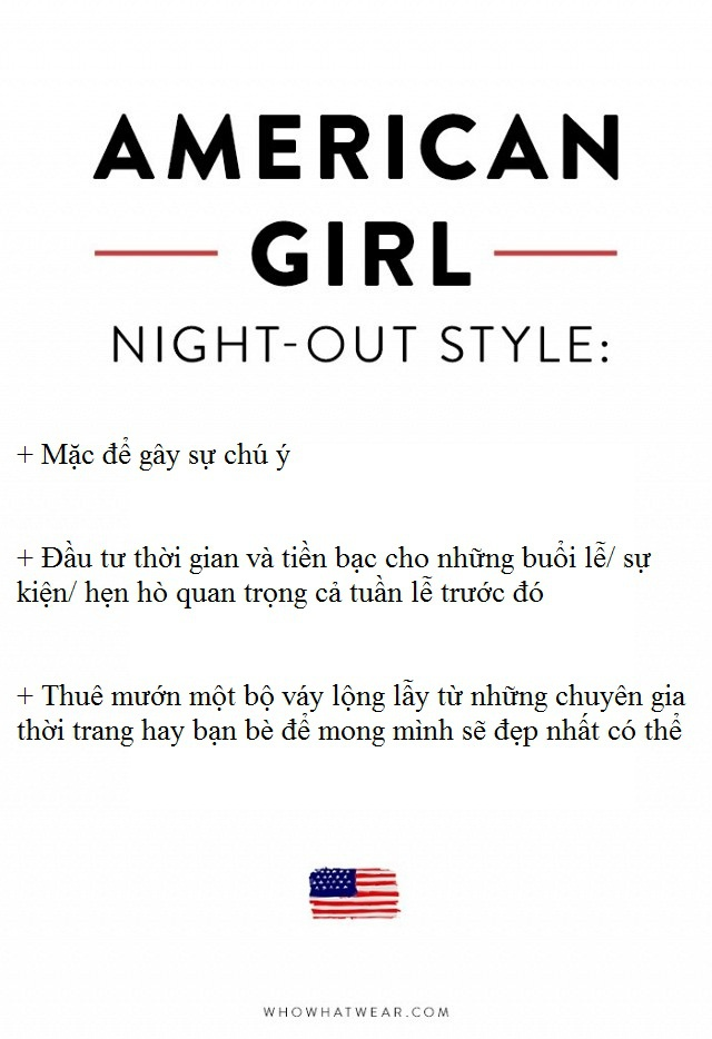 Phong cach thoi trang 'Night - Out' doi lap giua Phap va My hinh anh 5