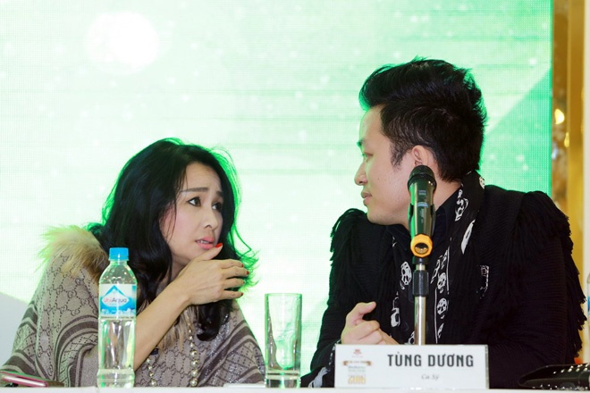 Quoc Trung lai cam tay Thanh Lam dien show hinh anh 2