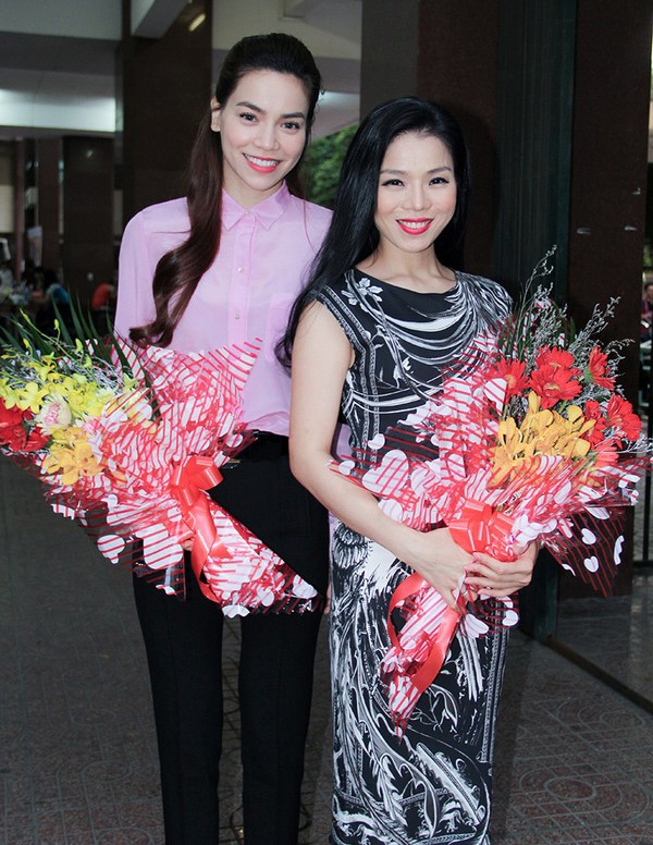 Le Quyen lan dau noi ve ran nut voi Ho Ngoc Ha hinh anh 2